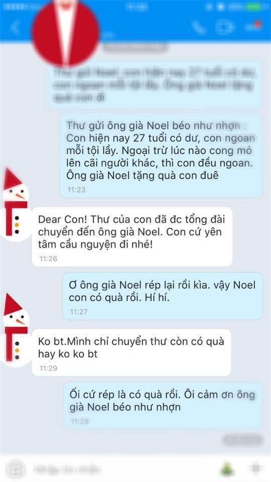 Khi hội chị em đua nhau nhắn tin theo trào lưu Em rất ngon và muốn có quà, hãy xem các anh già Noel phản ứng ra sao - Ảnh 18.