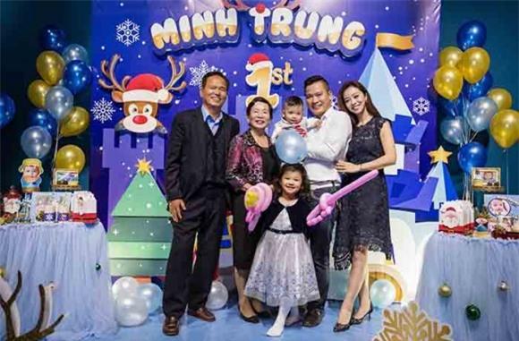 Jennifer Phạm - doanh nhân Đức Hải,  Jennifer Phạm, con trai Jennifer Phạm