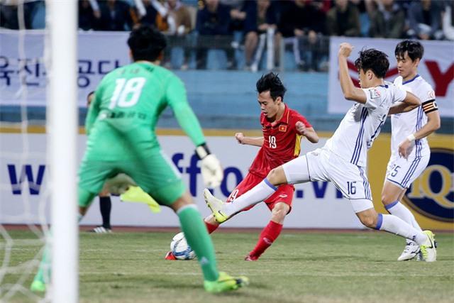 Lối chơi của U23 Việt Nam có nhiều dấu hiệu lạc quan - Ảnh: Gia Hưng