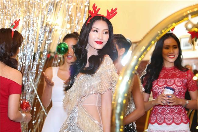 Hoàng Thùy mặt trắng bệch, ngày càng bánh bèo tại Hoa hậu Hoàn vũ VN - Ảnh 6.