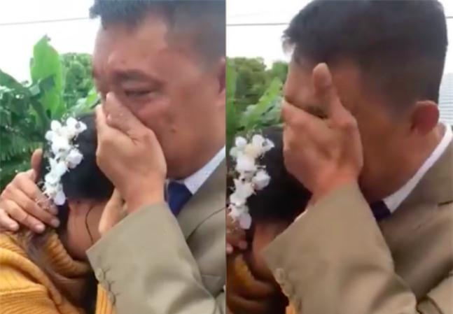 Bố khóc nức nở tiễn con về nhà chồng gây bão mạng: Nhà có 2 đứa, 1 đứa đi rồi, đứa kia lấy chồng nốt thì bố trắng tay - Ảnh 2.