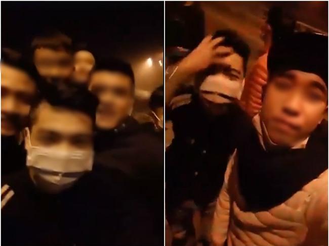 Clip: Nhóm thanh niên mang hung khí lên đường cao tốc chặn xin tiền rồi livestream khoe Facebook - Ảnh 2.