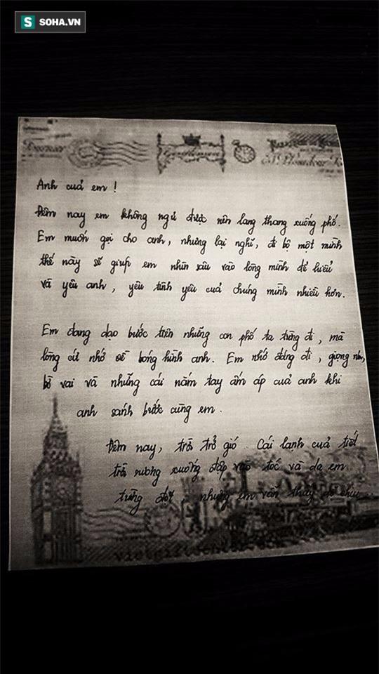 Xúc động lá thư tay Lâm Khánh Chi gửi chồng: Tình yêu của anh là lí do duy nhất khiến em tồn tại - Ảnh 2.