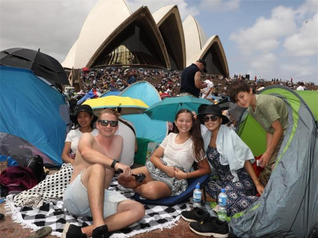 Australia đón năm 2018 bằng tiết mục pháo hoa trứ danh trên cảng Sydney - Ảnh 8.