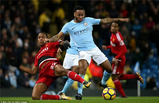 Sterling ghi bàn sau 39 giây, Man City lại hơn Man Utd 15 điểm - Ảnh 9.