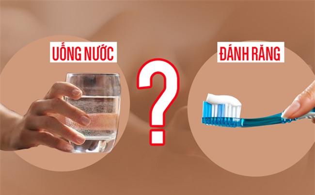 Sau khi ngủ dậy nên uống nước hay đánh răng trước: Đơn giản nhưng ít người trả lời đúng-1