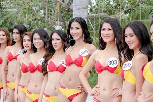 Thí sinh Hoa hậu Hoàn vũ khoe đường cong rực lửa với bikini gợi cảm-13