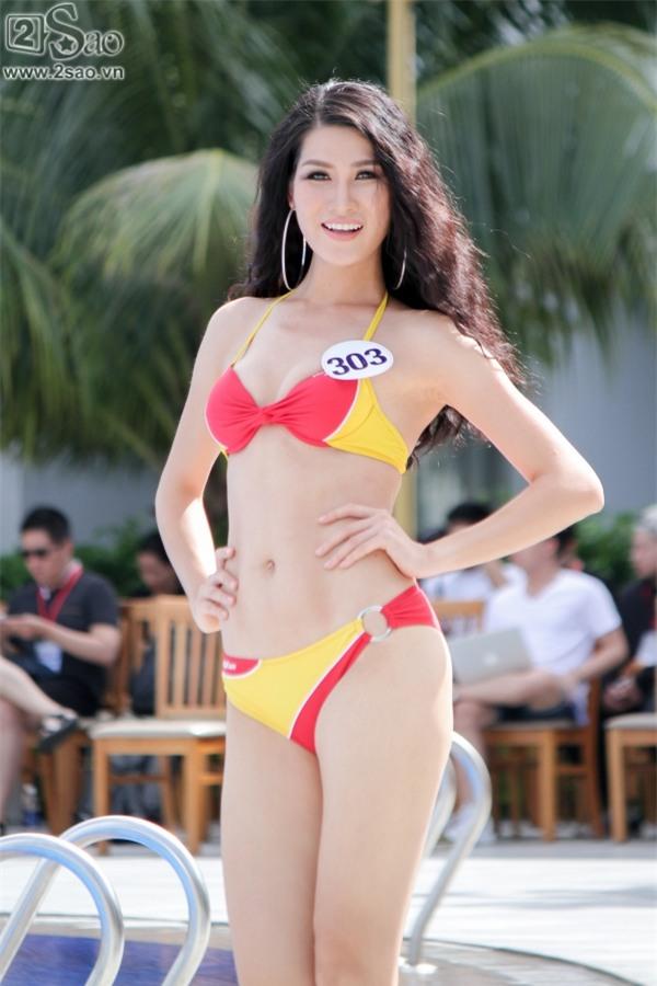 Thí sinh Hoa hậu Hoàn vũ khoe đường cong rực lửa với bikini gợi cảm-8