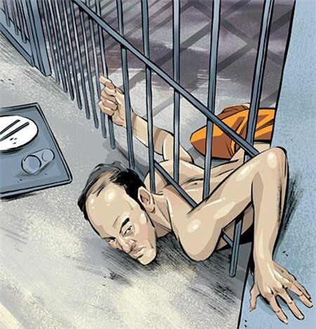 Màn vượt ngục không tưởng của tên tội phạm đồng thời là cao thủ yoga, chui qua khe cửa 15cm chỉ trong 34 giây - Ảnh 3.