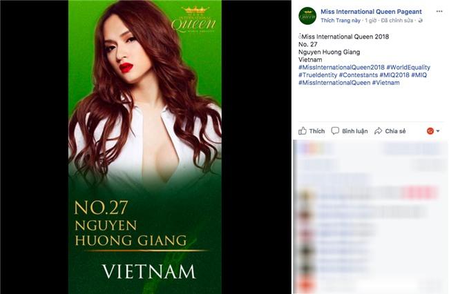 Hương Giang Idol trở thành đại diện Việt Nam thi Hoa hậu chuyển giới Thế giới tại Thái Lan? - Ảnh 1.