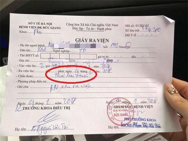 ha noi: bac si khang dinh thai chet luu cho di hut, sang vien khac kham thai van binh thuong - 2