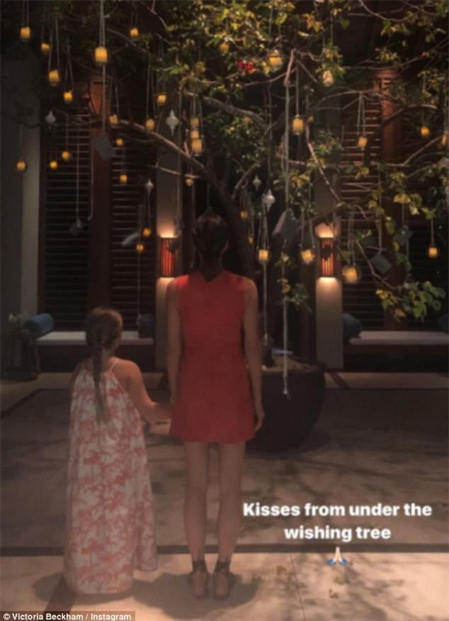 Bố con Harper Beckham bắt chước cảnh ngậm cùng một sợi mì siêu đáng yêu trong phim hoạt hình - Ảnh 7.