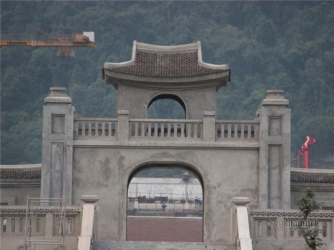 Sập giàn giáo,Yên Tử,Quảng Ninh