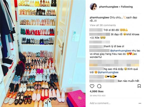 Ngắm 4 kho hàng hiệu to như siêu thị thời trang của sao Việt khiến triệu người ngưỡng mộ-14