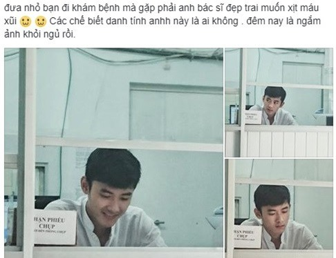 Chang ky thuat vien X-quang dien trai 'don tim' hoi chi em hinh anh 1
