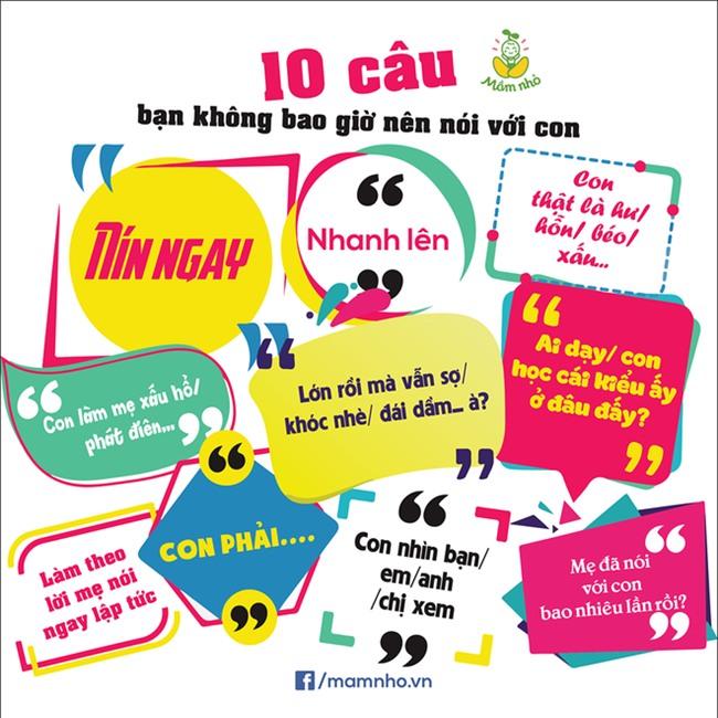 10 câu nói rất quen thuộc mà bố mẹ không bao giờ nên nói với con - Ảnh 1.