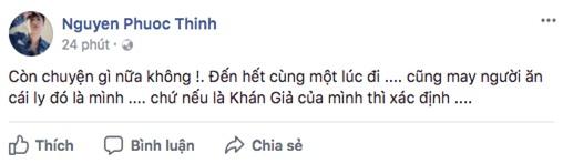 Vừa bước sang năm mới, Noo Phước Thịnh đã gặp sự cố bị ném ly trên sân khấu - Ảnh 1.