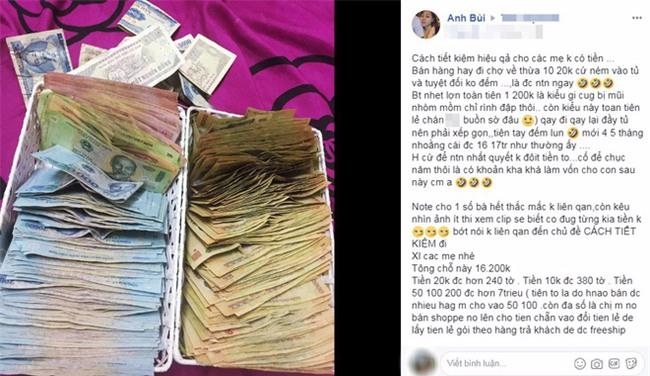 Cao thủ chi tiêu Hà Nội tiết lộ bí quyết tiết kiệm 5 tháng được 17 triệu khiến chị em thích thú - Ảnh 1.