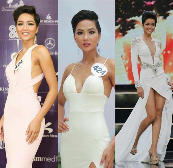 Cận cảnh vẻ nóng bỏng của Tân Hoa hậu Hoàn vũ Việt Nam Hhen Niê - Ảnh 7.