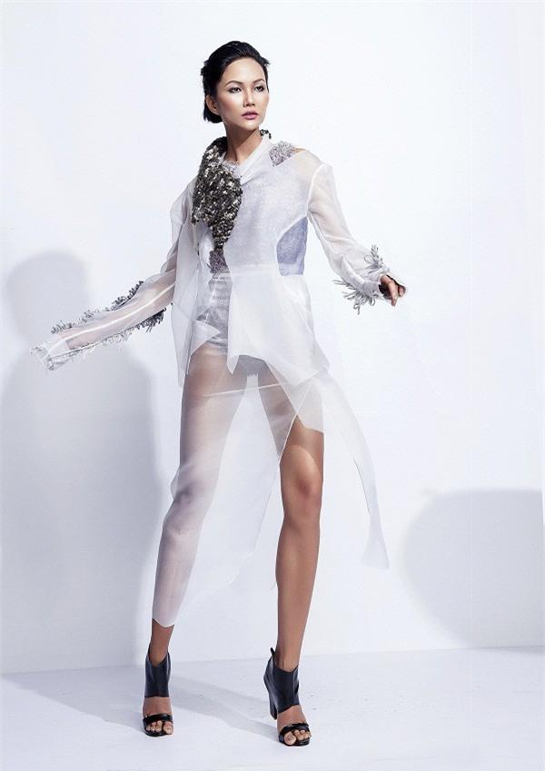 Hành trình nhan sắc của HHen Nie từ khi còn ở Việt Nam Next Top Model đến Tân Hoa hậu Hoàn Vũ Việt Nam 2017 - Ảnh 11.