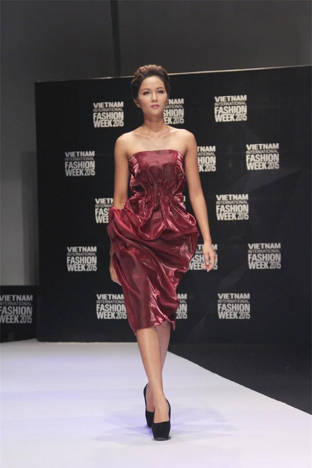 Hành trình nhan sắc của HHen Nie từ khi còn ở Việt Nam Next Top Model đến Tân Hoa hậu Hoàn Vũ Việt Nam 2017 - Ảnh 8.