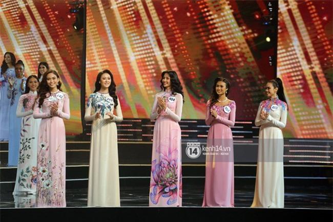 Áo dài đêm chung kết HHHV: Xem mà cứ ngỡ nhầm phải cuộc thi Hoa hậu nào năm xưa - Ảnh 4.