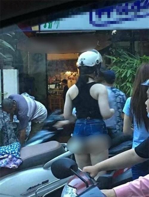 Mặc quần đùi siêu ngắn đi xe giường nằm, cô gái hớ hênh khiến dân mạng ngao ngán - Ảnh 13.