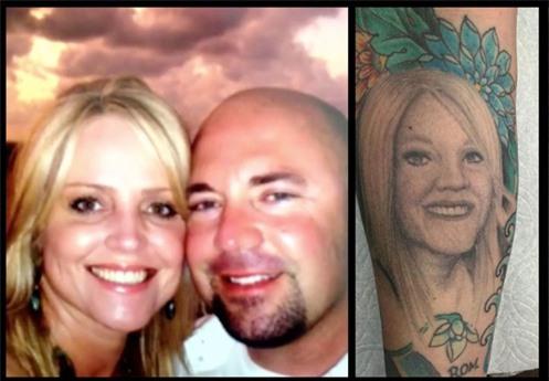 Xăm chân dung vợ lên tay để bày tỏ tình yêu, đến khi ly hôn, người chồng chọn cách này để xử lý hình xăm - Ảnh 1.
