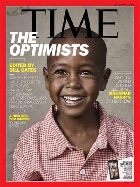 Bill Gates trở thành biên tập viên khách mời đầu tiên của tạp chí Time - Ảnh 1.