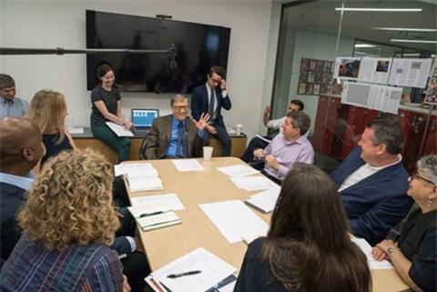 Bill Gates trở thành biên tập viên khách mời đầu tiên của tạp chí Time - Ảnh 2.