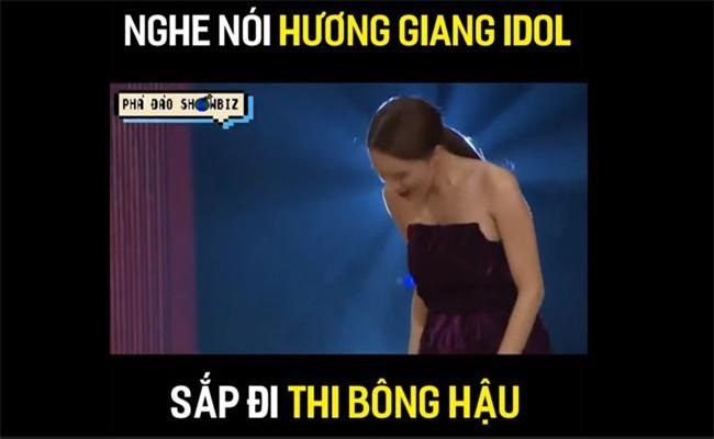 """vua moi cong khai thi hoa hau, huong giang idol bi dao mo qua khu catwalk nga """"sap mat""""! - 4"""