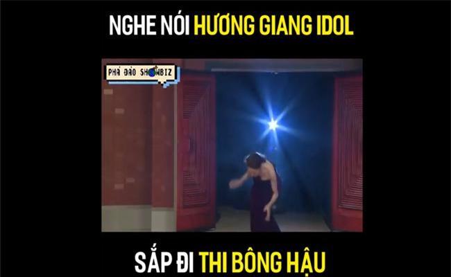 """vua moi cong khai thi hoa hau, huong giang idol bi dao mo qua khu catwalk nga """"sap mat""""! - 5"""