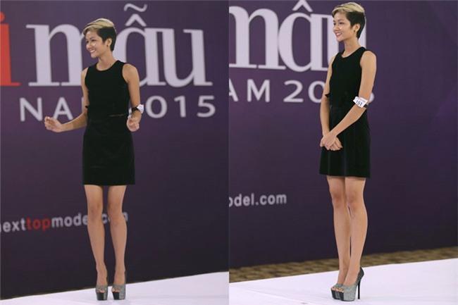 Body của HHen Niê từ Next Top đến Hoa hậu: Dậy thì thành công! - Ảnh 1.