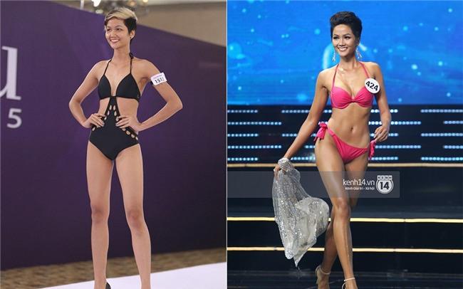 Body của HHen Niê từ Next Top đến Hoa hậu: Dậy thì thành công! - Ảnh 11.