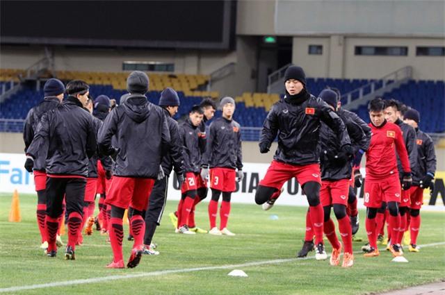 Duy Mạnh và các đồng đội đánh giá cao U23 Hàn Quốc