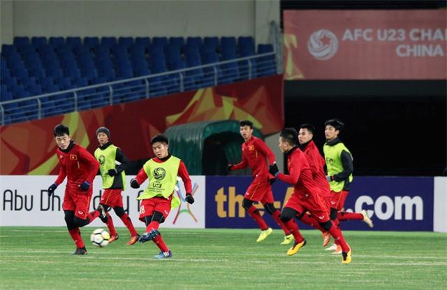 U23 Việt Nam tập khá muộn những ngày gần đây