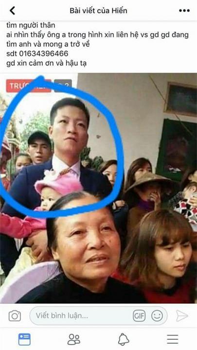 Nam Định: Nam thanh niên mất tích bí ẩn sau khi ăn cỗ đám cưới