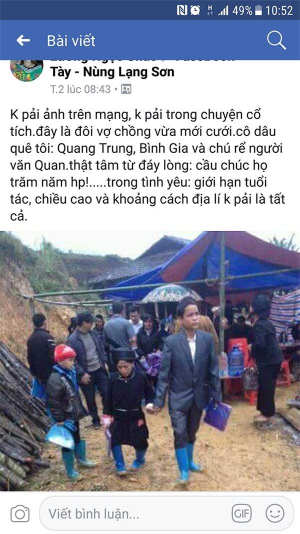 Cảm động đám cưới ngày mưa rét của cặp vợ chồng nghèo ở Lạng Sơn-1