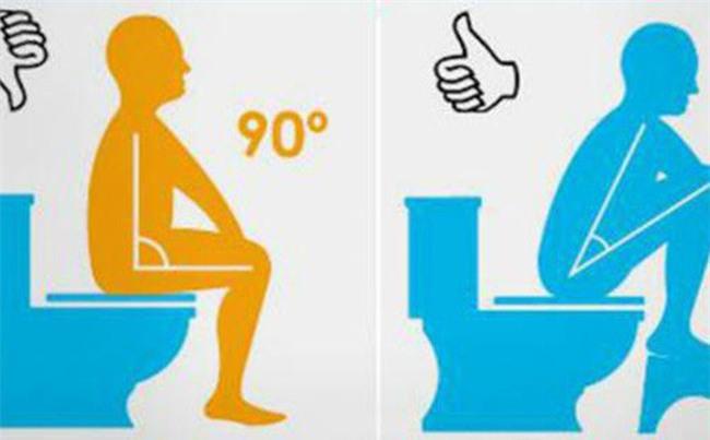 Đây mới là tư thế ngồi khi đi vệ sinh tốt nhất cho sức khoẻ-2