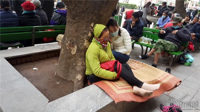 không khí lạnh,rét,giá rét,Bệnh viện Bạch Mai