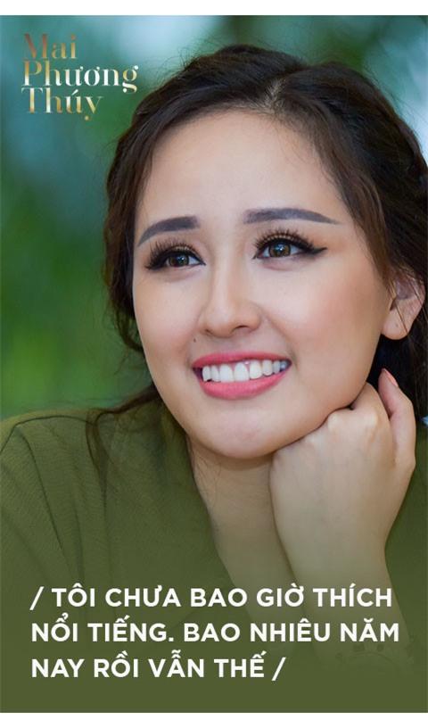 Mai Phuong Thuy: 'Nua doi la hoa hau roi, toi chi mo song binh thuong' hinh anh 4