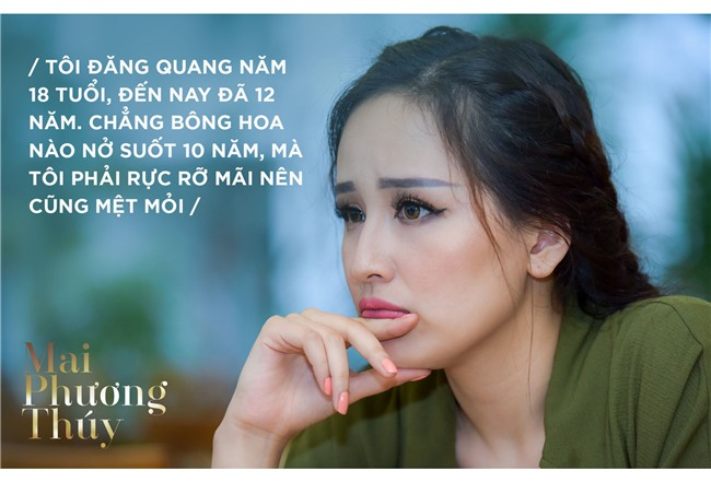 Mai Phuong Thuy: 'Nua doi la hoa hau roi, toi chi mo song binh thuong' hinh anh 7