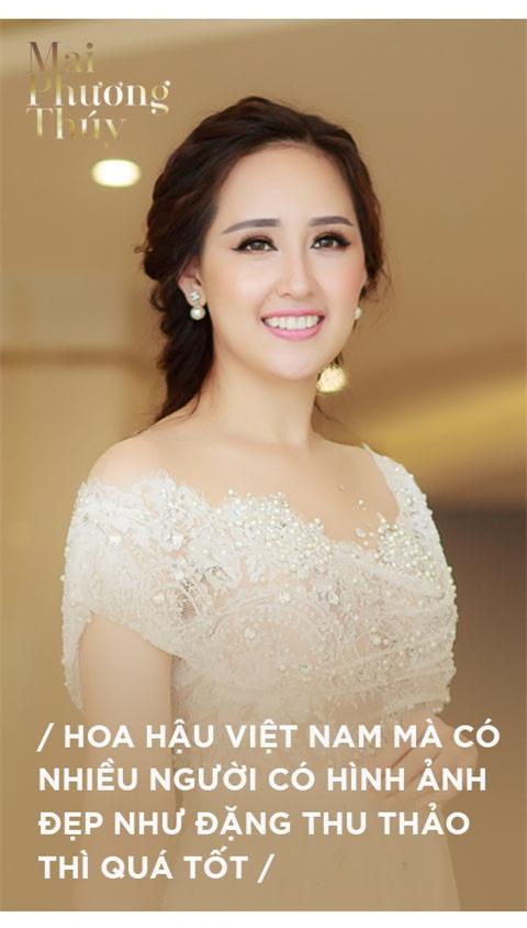 Mai Phuong Thuy: 'Nua doi la hoa hau roi, toi chi mo song binh thuong' hinh anh 9