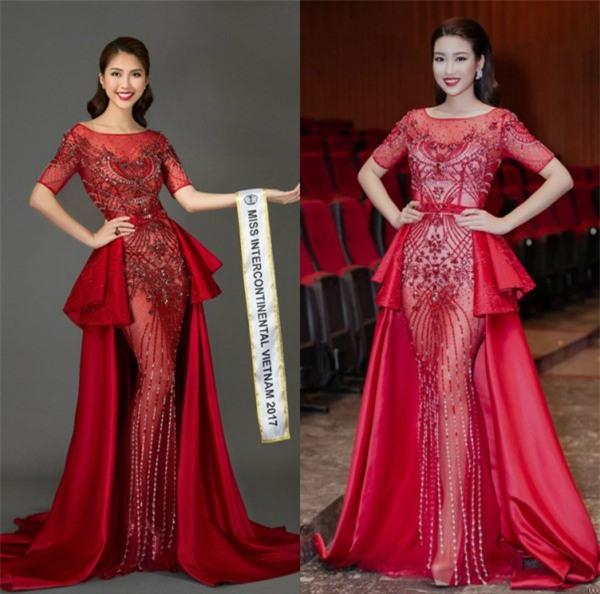 Tường Linh khiến fan lo lắng khi liên tục chọn váy cũ của Hà Hồ để lên đường thi thố nhan sắc-10