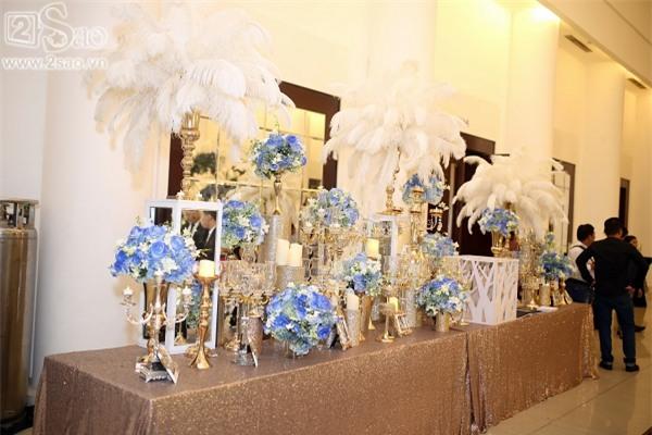 Không gian tiệc cưới hoành tráng của Lâm Khánh Chi-2
