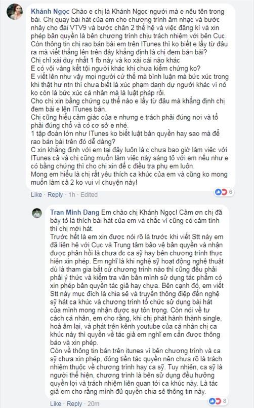 Khánh Ngọc, Hồ Ngọc Hà khẳng định không liên quan khi bị tố sử dụng ca khúc vướng bản quyền-4