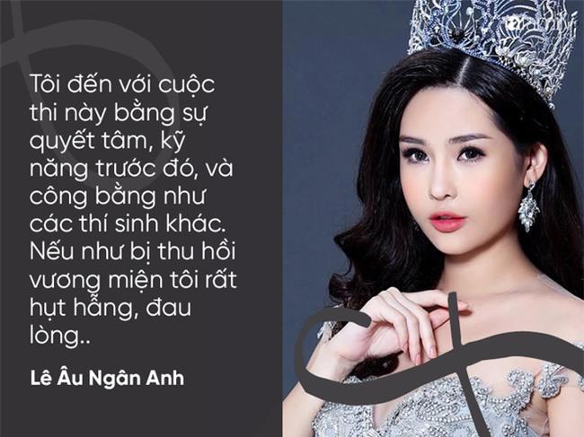 Những phát ngôn chắc nịch khẳng định vẻ đẹp tự nhiên 100% của Hoa hậu Lê Âu Ngân Anh trước khi bị thu hồi vương miện - Ảnh 10.
