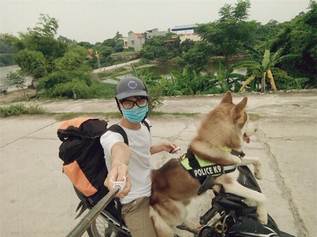 Câu chuyện về chàng trai chuyên đi phượt với cún cưng, thà nhịn ăn chứ không để boss đói - Ảnh 5.