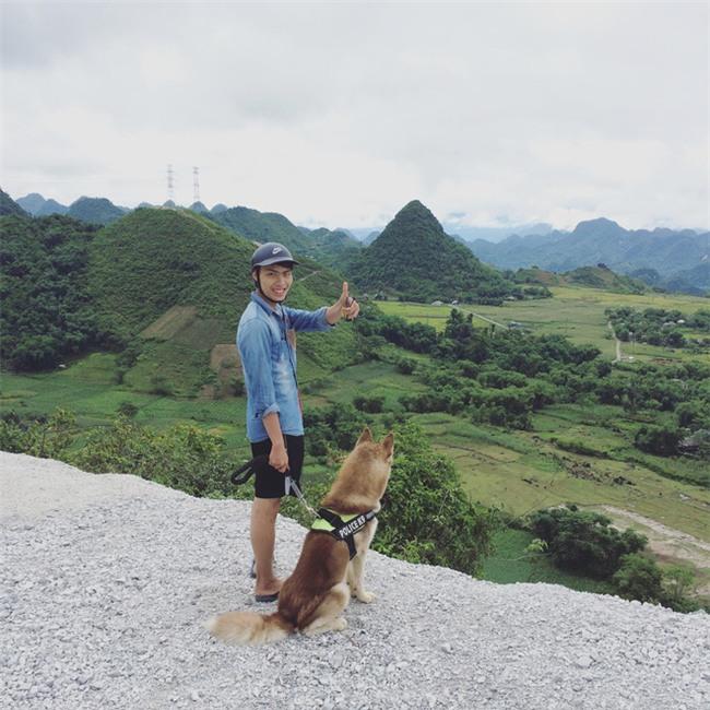 Câu chuyện về chàng trai chuyên đi phượt với cún cưng, thà nhịn ăn chứ không để boss đói - Ảnh 8.