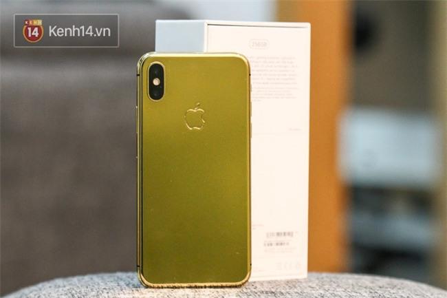 Đây là một chiếc iPhone X mạ vàng tại Việt Nam, đằng sau vẻ đẹp là sự đánh đổi - Ảnh 3.